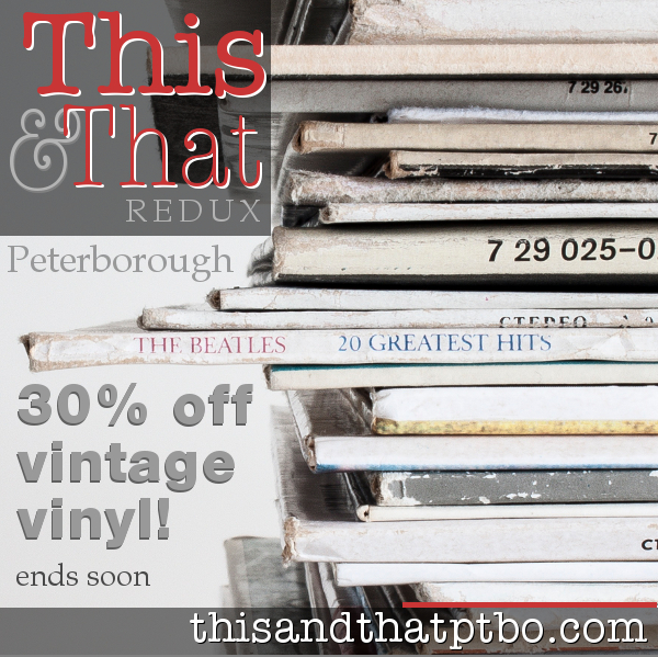 30% off Vintage Vinyl